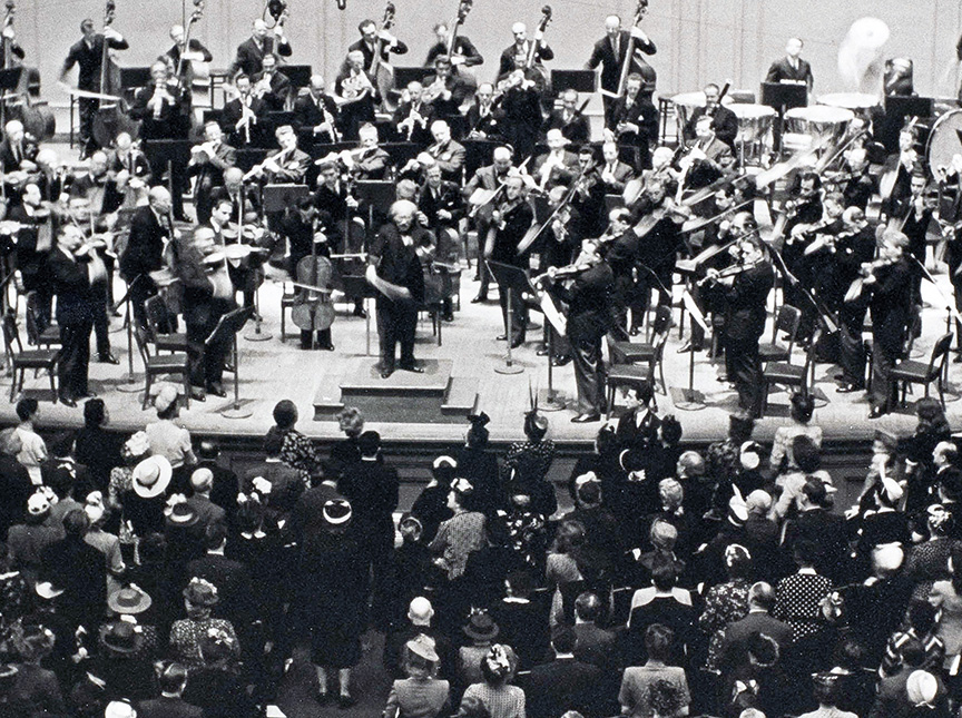 Toscanini Conducting SSB with NY Phil