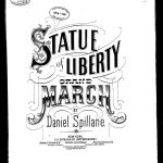 Statue of Liberty Grand March by Daniel Spillane 1884